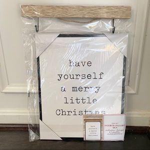 Target | Interchangeable Christmas Signs